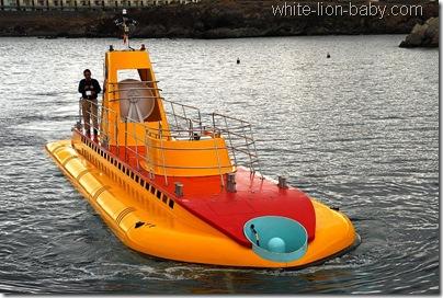 Das U-Boot für unseren Tauchgang im Atlantik