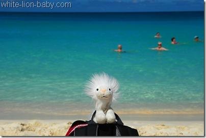 Türkisfarbenes Meer am Eagle Beach