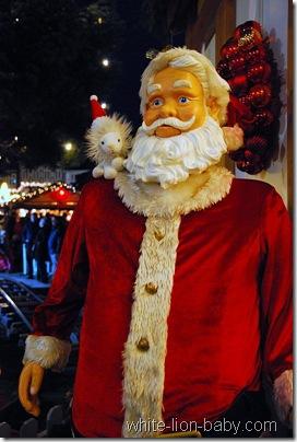 Der Weihnachtsmann persönlich!