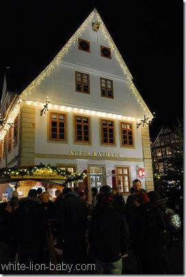 Illuminiertes Altes Rathaus