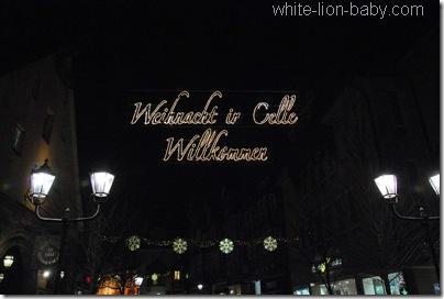 Weihnacht in Celle - Willkommen