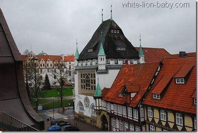 Blick zum Celler Schloss