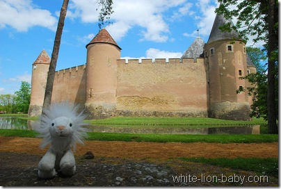 Rückseite vom Schloss