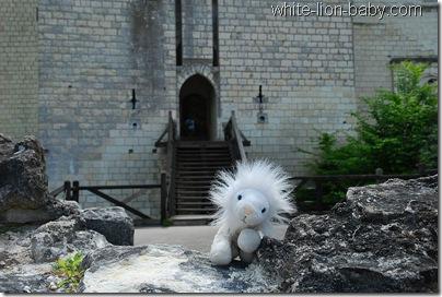 Eingang des Treppenturms zum Donjon