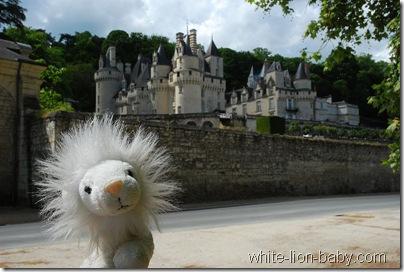 Angekommen bei Schloss Ussé