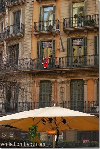 In der Rambla de Catalunya
