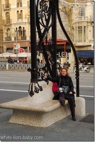 Auf dem Passeig de Gràcia