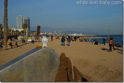 Strand-Besucher