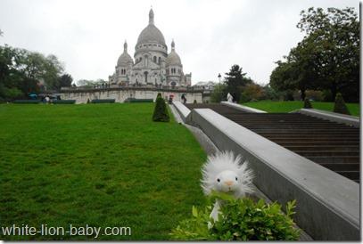 Aufstieg zur Sacré-Coeur