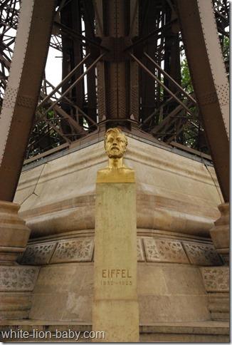 Büste von Gustave Eiffel