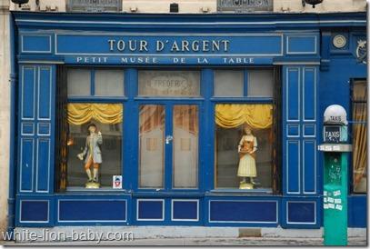 """Museum neben dem Restaurant """"La Tour d'Argent"""""""
